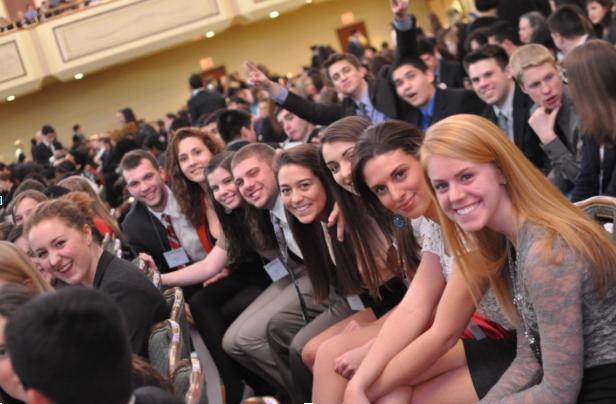 Happy Delegates